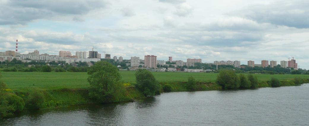 Лыткарино вид с реки