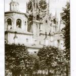 Вид во дворе Вознесенского монастыря. Фото нач. ХХ века