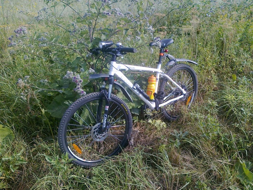 Горный велосипед автора
