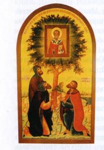 Обретение иконы Николая Чудотворца князем Дмитрием Донским