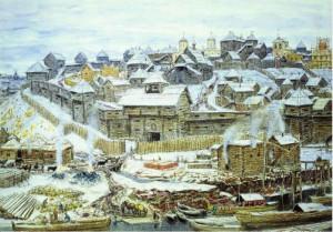 Московский Кремль при Иване Калите. 1921, А.М.Васнецов