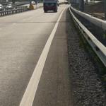 Полоса для велосипедистов на Рязанском шоссе