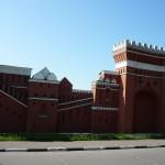 Угрешский монастырь - красная стена