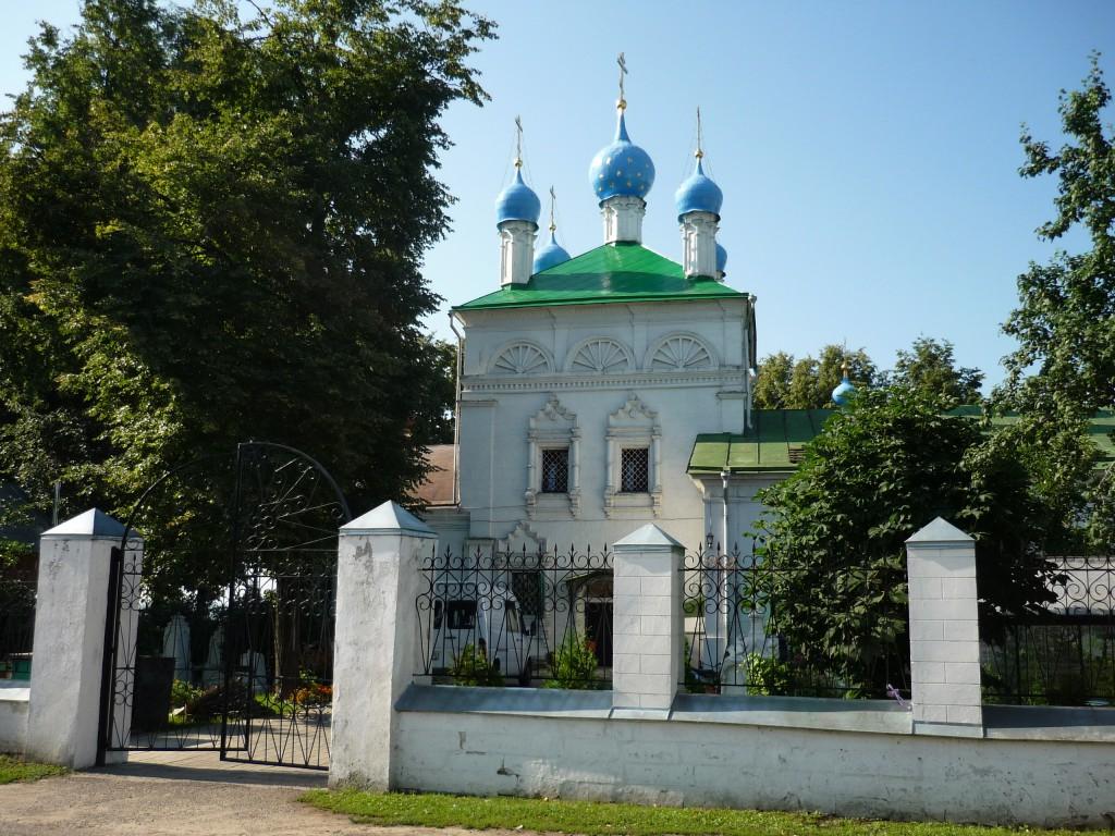 Церковь в Верхнем Мячково