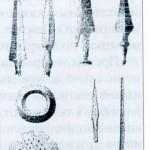 Предметы, найденные на Боровмом городище