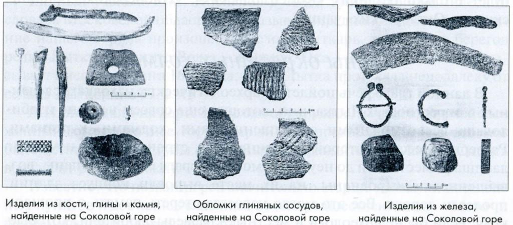 Результаты раскопок близ Лыткарино