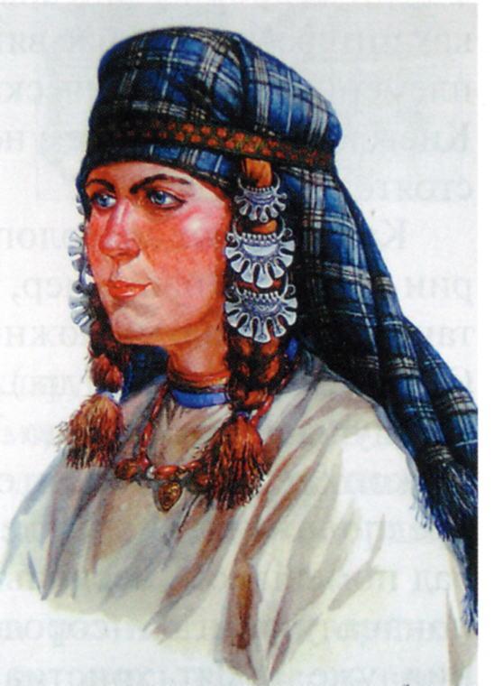 Славянка XII века
