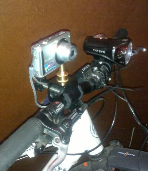Как установить фотоаппарат или камеру не велосипед