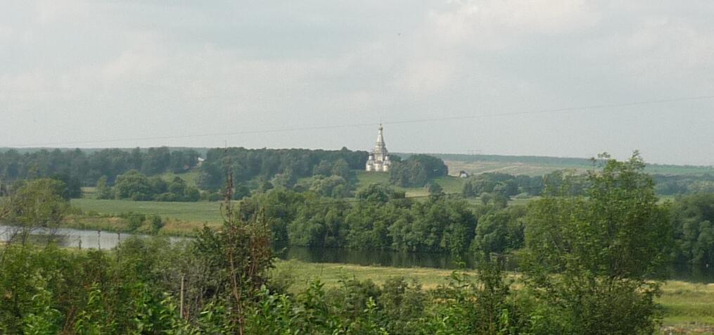 Остров. Вид за Москва-реку