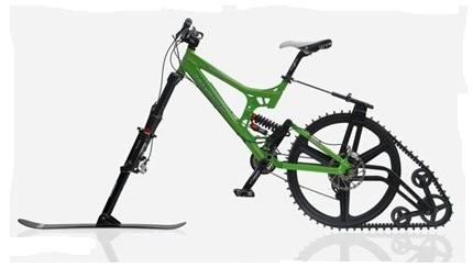 """Зимний велосипед """"Ktrak"""""""