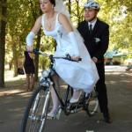 велосипед тандем фото с велосвадьбы