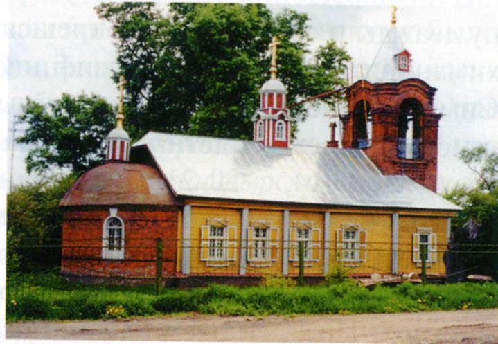Старообрядческая церковь Рождества Пресвятой Богородицы в Тураево