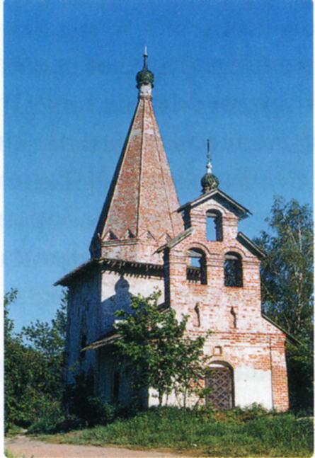 Церковь свт. Николая Чудотворца  в с. Петровское