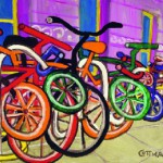 Mark Cottman-  Bicycle rack at Penn Station