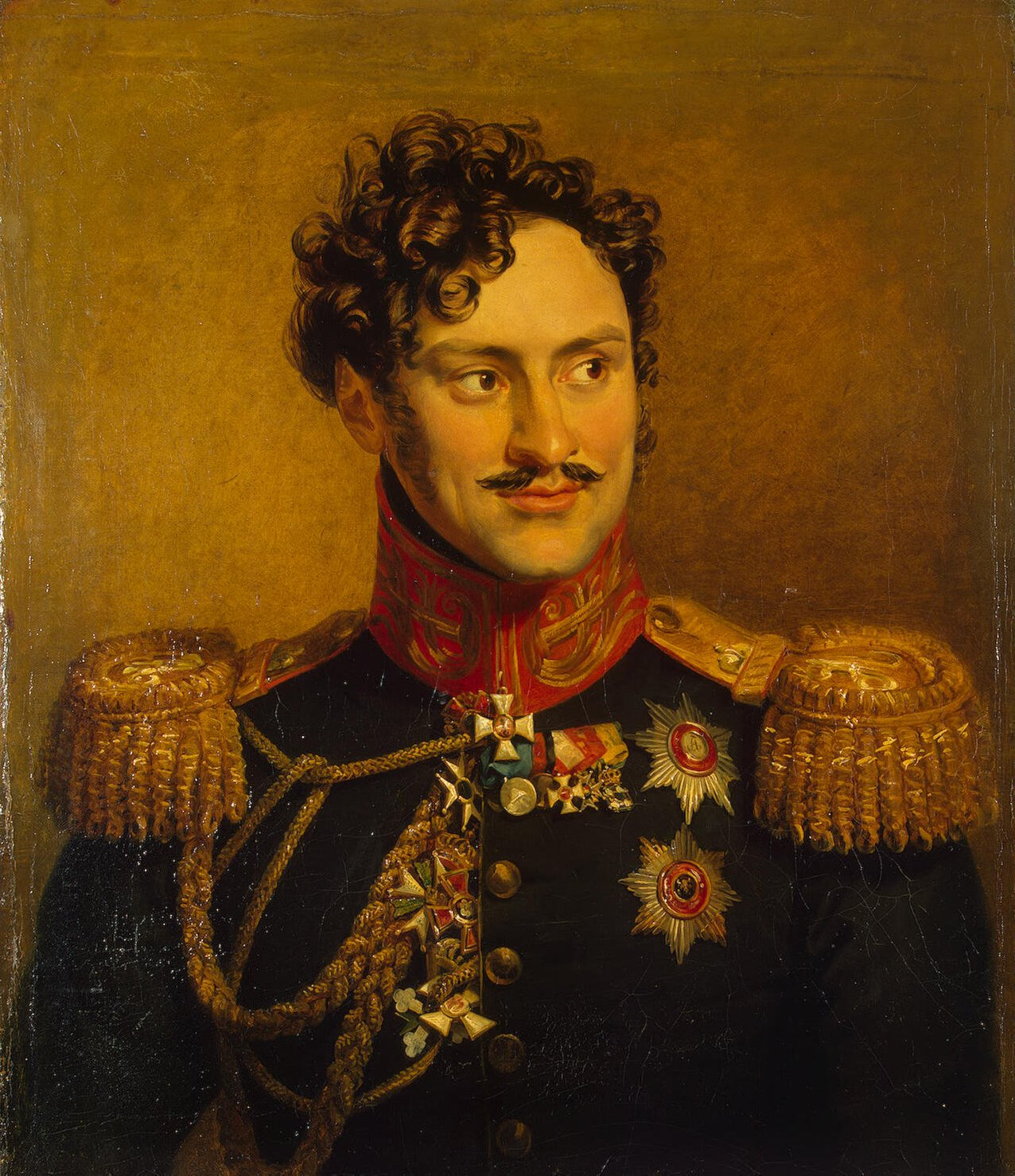 Доу, Джордж - Портрет Александра Ивановича Чернышева.