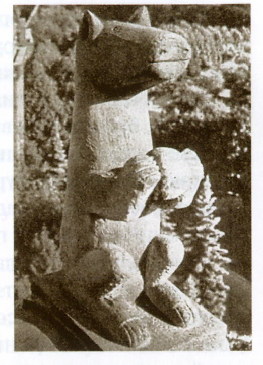 Фрагмент белокаменных украшений на Спасской башне из мячковского известняка