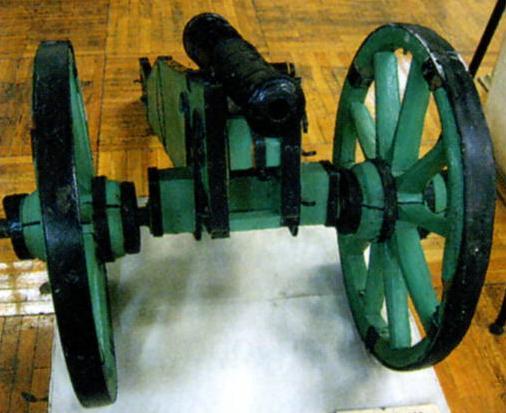 Пушка времен войны 1812 г.