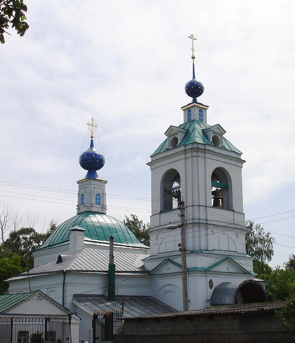 Церковь Успения Пресвятой Богородицы в Жилино