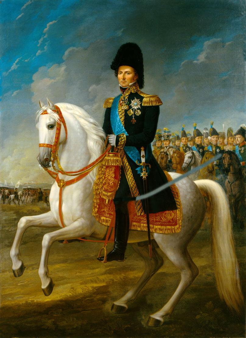 Французский маршал Бернадот- будущий король Швеции