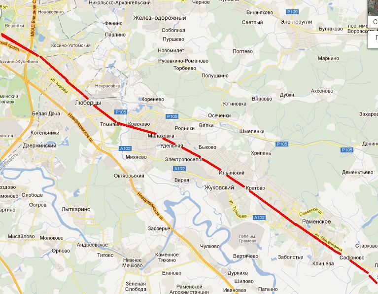 Московско-Казанская железная
