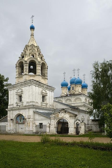 Церковь Покрова Богородицы с. Зелёная Слобода