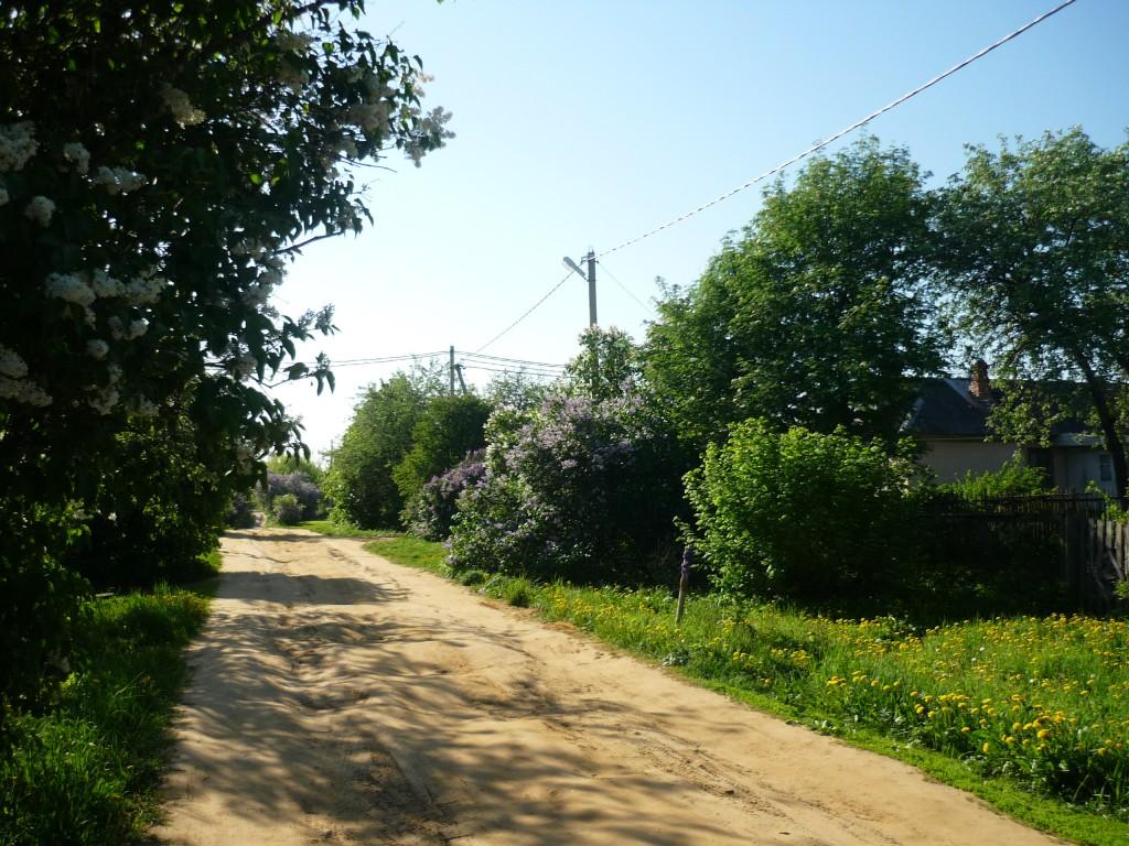Титово. Дорога XVIII века