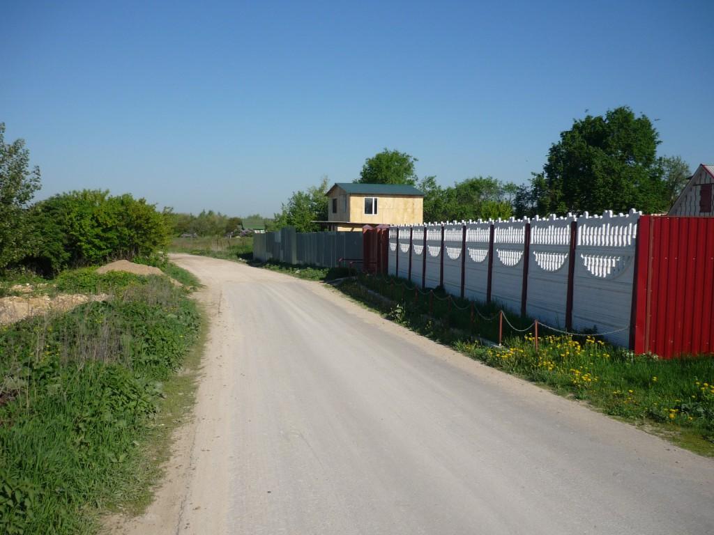 Въезд в Нижнее Мячково