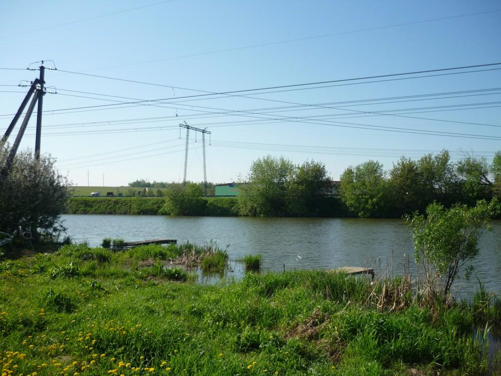 Озера Развилка у деревни Зеленая слобода вид налево