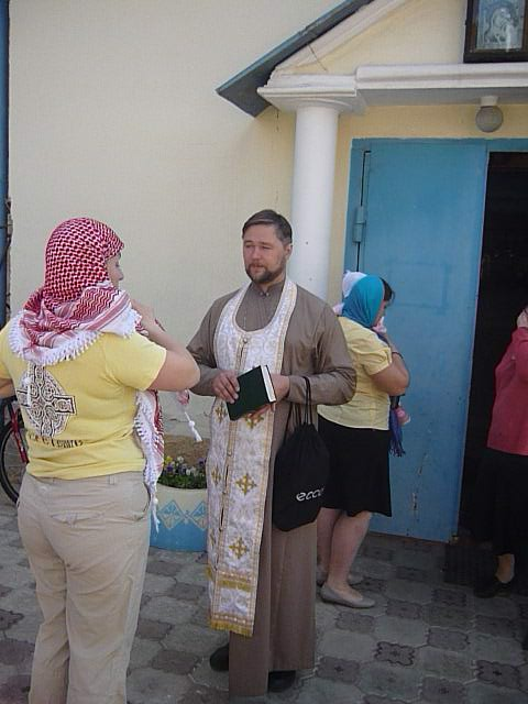 Священник Дмитрий Березин, настоятель Храма