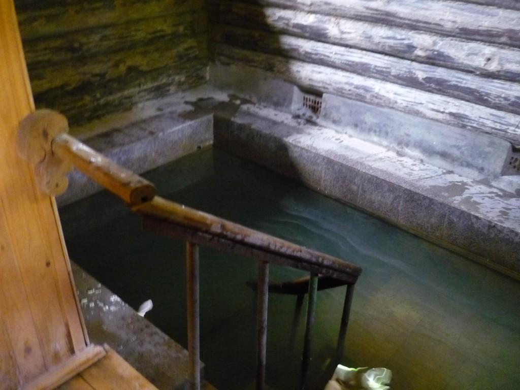 Купель Святого источника в Верхнем Мячково