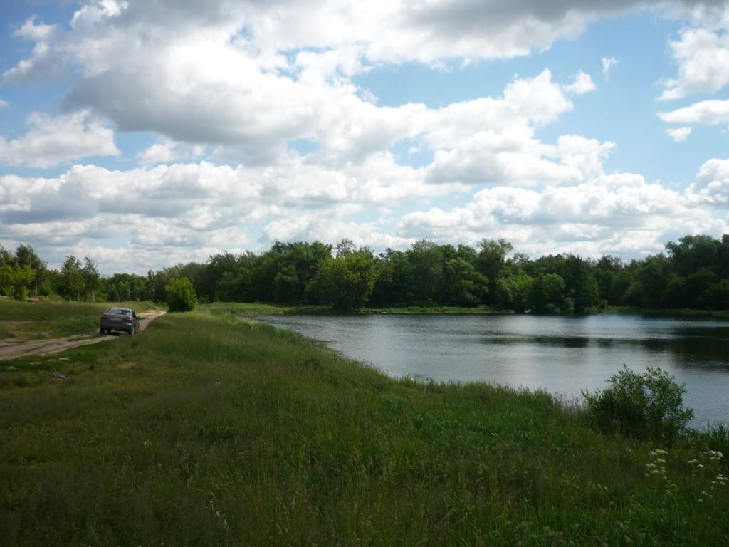 Озеро в Октябрьском