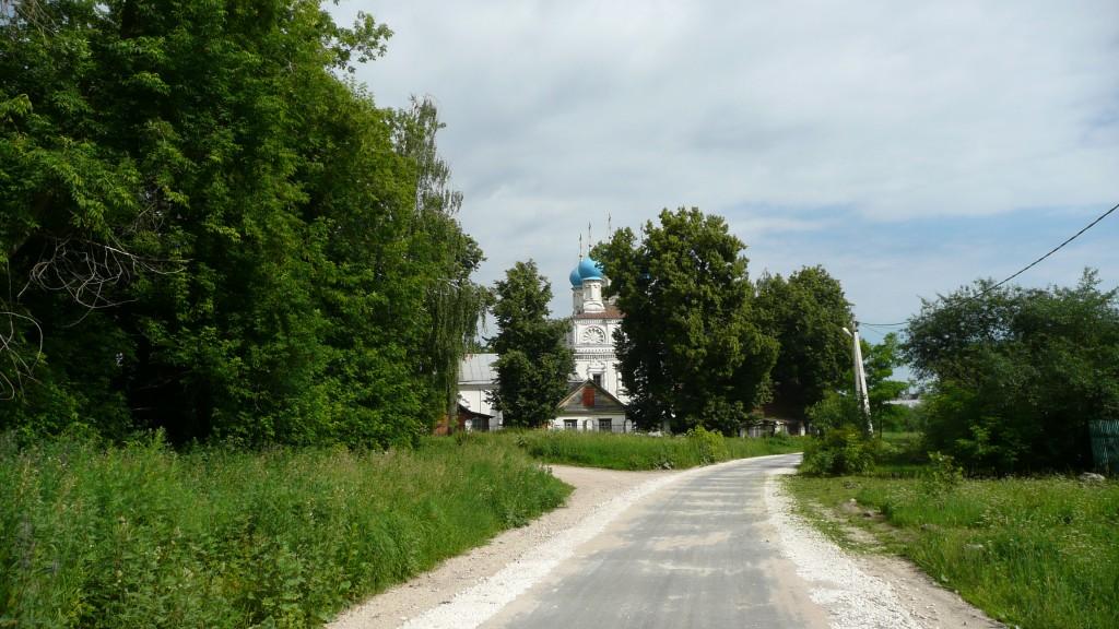 Зеленая Слобода. Храм