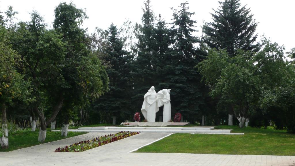 В поселке Константиново
