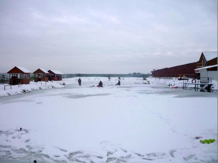 09-12-12 по первому льду на пруду Гарантия
