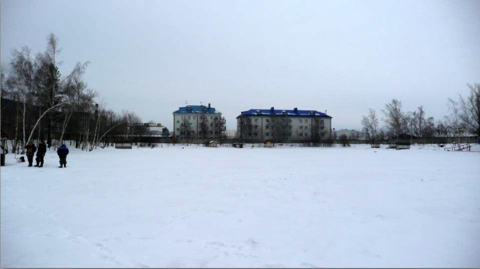 "Вид на север на пруду ""Рыбалка у Бородина"""