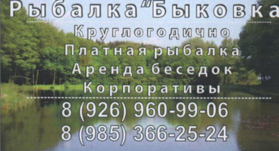 Быковка - Визитка