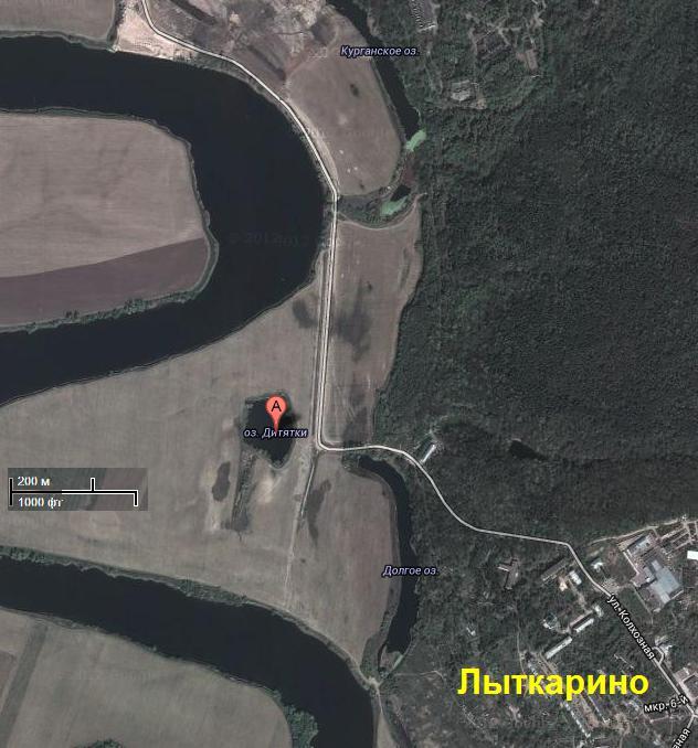 Озеро Круглое - Дитятки