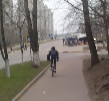 Велосипедист № 0097
