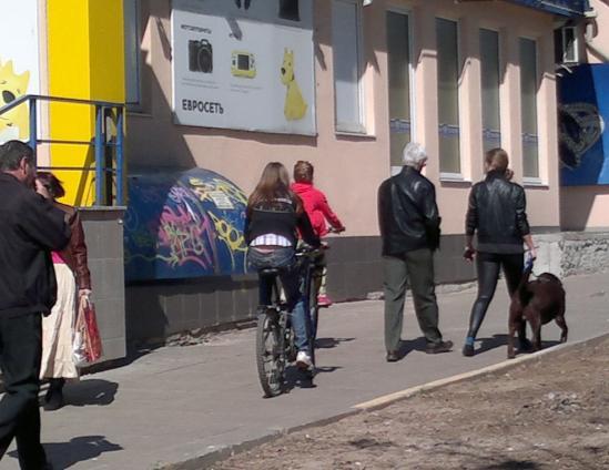 0114-й велосипедист в Лыткарино и окрестностях
