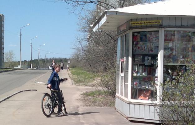 116-й велосипедист в Лыткарино и окрестностях