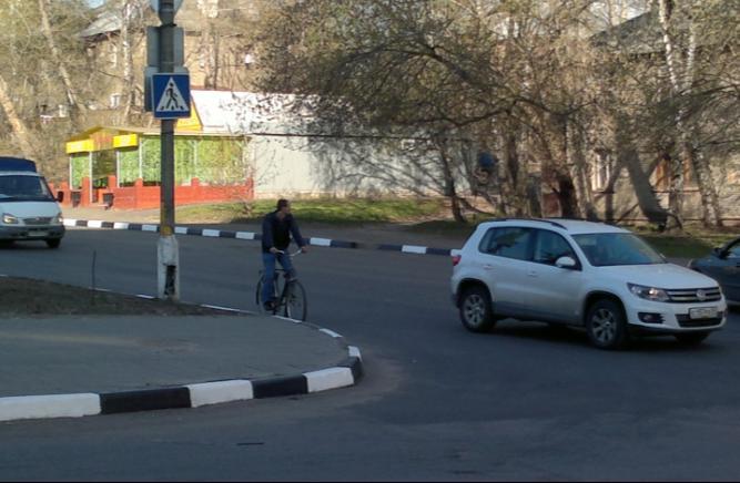 117-й  велосипедист в Лыткарино и окрестностях