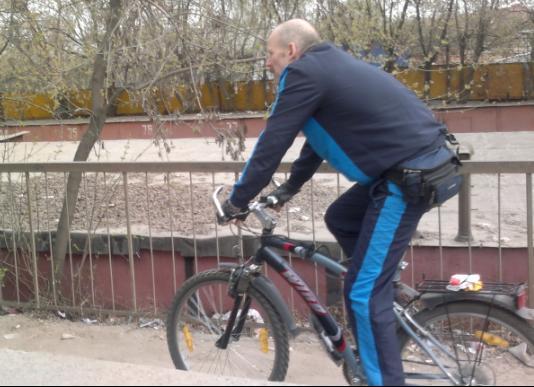 118-й  велосипедист в Лыткарино и окрестностях
