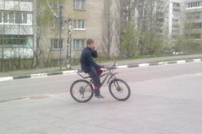 112-й  велосипедист в Лыткарино и окрестностях
