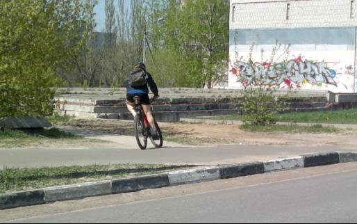 123-й  велосипедист в Лыткарино и окрестностях