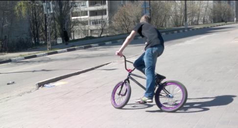 124-й  велосипедист в Лыткарино и окрестностях