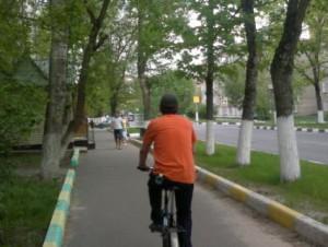 132-й  велосипедист в Лыткарино и окрестностях