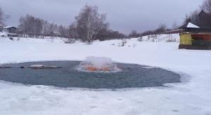 Рыбалеак в Бритово - фонтан -аэротор
