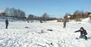 На рыбалке в Бритово (БОХ) -клюет!!!